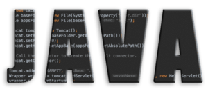 Java Featured Image with Java Code