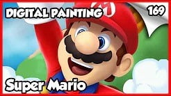 Mario Speed Painting