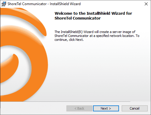 Shoretel Communication Client Setup Wizard