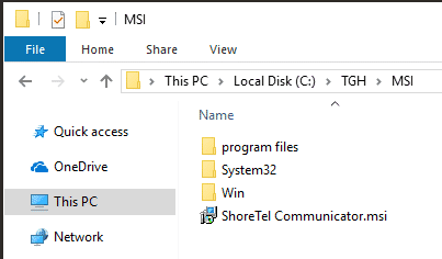 Shoretel Communicator Download MSI Installer