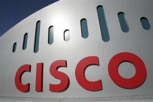 cisco logo red grey and green