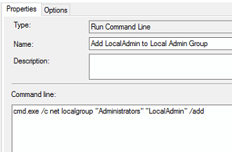 how to add a user to local admin group