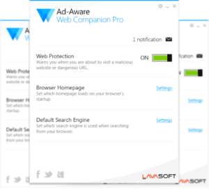 Ad-Aware Web Companion Pro Free Giveaway
