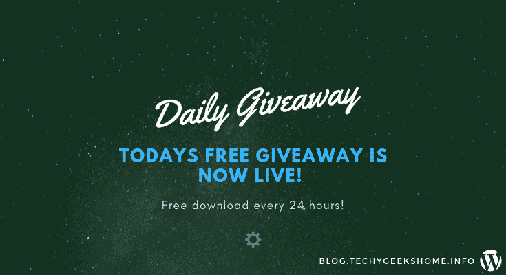 Daily Giveaway Featured Image