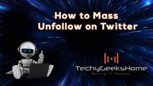 Twitter Mass Unfollow Online for Free