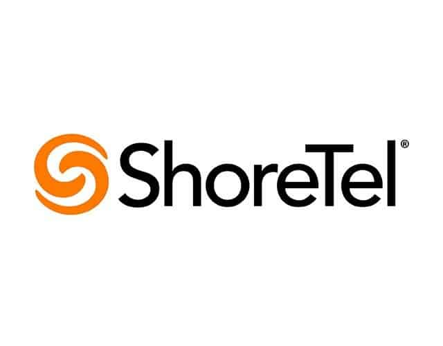 Shoretel Orange and Black Logo