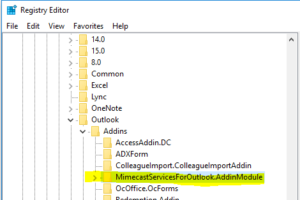 Enabling inactive add-in that keeps being unloaded in Outlook 2