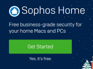 Sophos Anti-Virus and Web Protection Free for Home Users 4