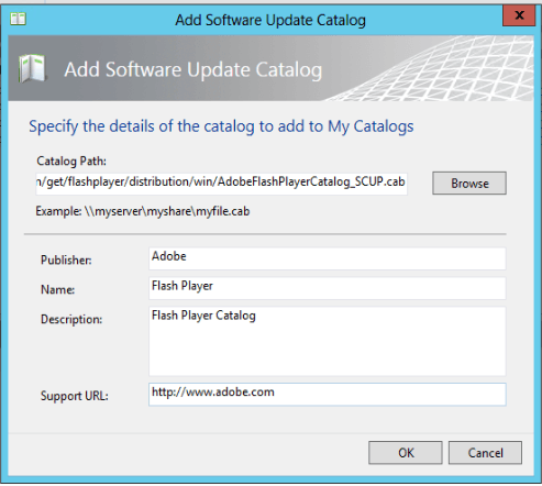 SCUP - Adobe Flash Player Updated Catalog 4