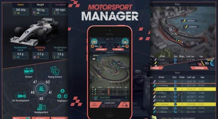 Motorsport Manager iOS