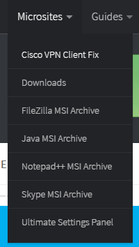 Java Client MSI Archive Microsite Launched 1