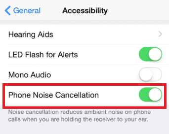 iPhone calls very quiet when using earpiece 1