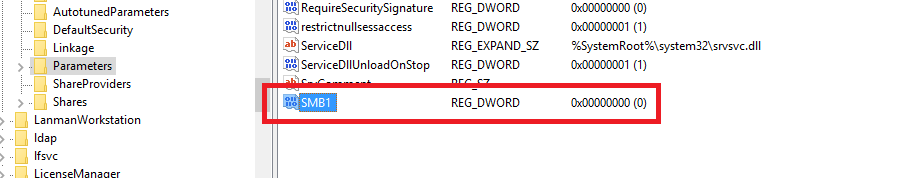 Disable SMBv1 to protect against ransomware attacks 2