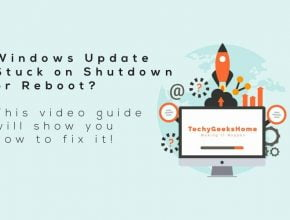 Video Demo – Windows Updates Stuck on Shut Down or Reboot Fix