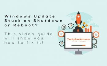 Windows Update Stuck on Shutdown