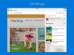 Microsoft Edge Released for iOS and Android 1