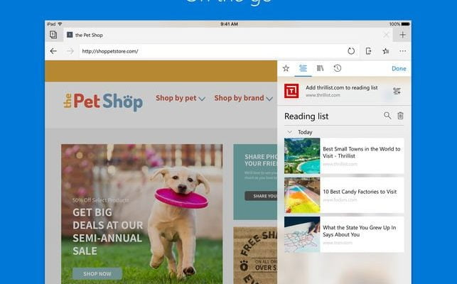 Microsoft Edge Released for iOS and Android - TechyGeeksHome