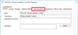 SCCM - User Experience During Application Installation 7