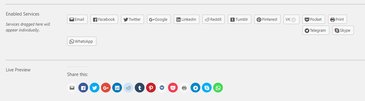 How to add VK.com to your Jetpack Sharing Buttons 1