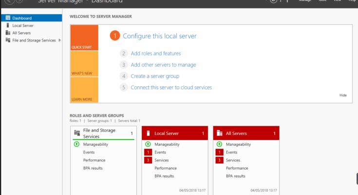 Windows Server 2016 - Disable Server Manager on Startup 1