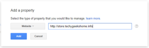 Submit your website to Google Webmaster Tools