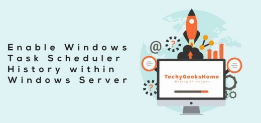 Enable-Windows-Task-Scheduler-History