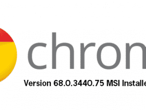 Google Chrome MSI Installer Version 68.0.3440.75