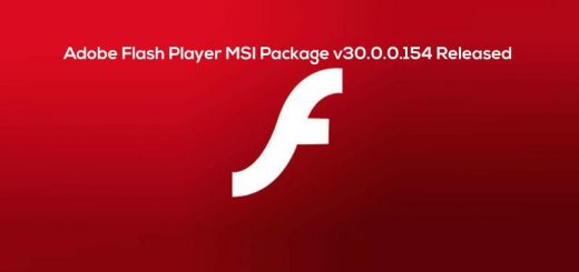 Adobe-Flash-Player-MSI-Package