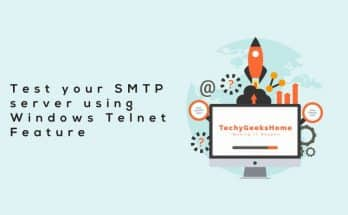 Test-your-SMTP-server-using-Windows-Telnet-Feature