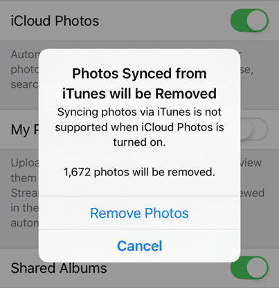 iCloud syncing problem