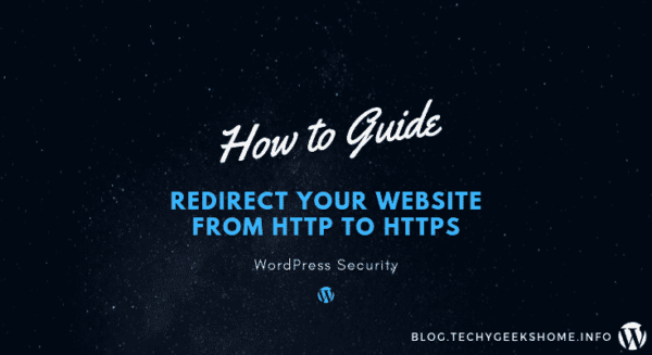Redirect your website from HTTP to HTTPS