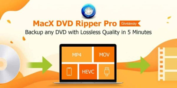 MacX DVD Ripper Pro - Backup and DVD ripping in 5 Mins [Giveaway] 3