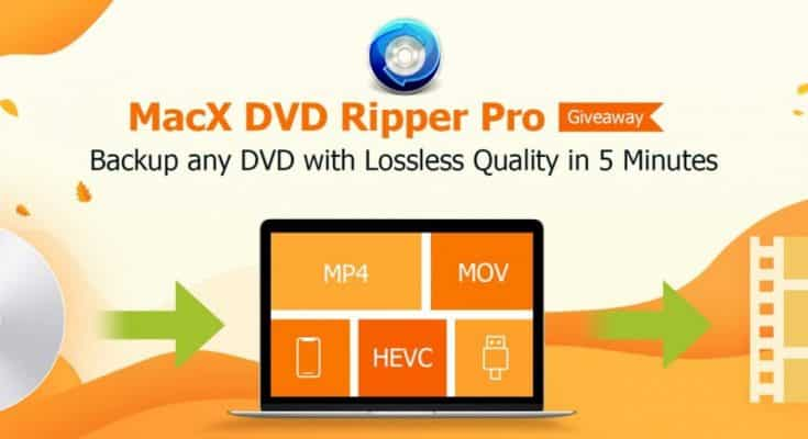 MacX DVD Ripper Pro - Backup and DVD ripping in 5 Mins [Giveaway] 1