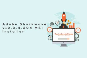 Adobe Shockwave Player 12.3.4.204 – MSI Download