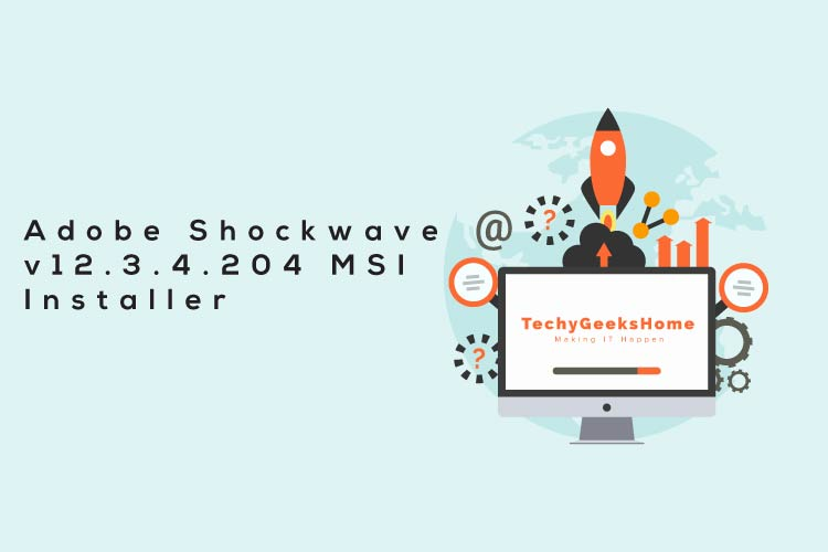 Adobe Shockwave MSI Installer Download
