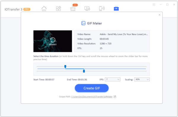 IOTransfer 3 GIF Maker