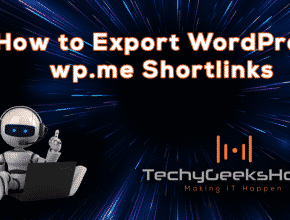 How to Export WordPress Shortlinks