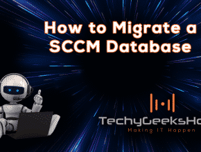 How to migrate a SCSM database