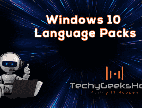 Windows 10 Language Packs