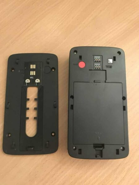 KuDiff Smart Wifi Doorbell Rear and Back Plate