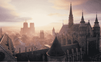 Assassins Creed Unity Notre Dame SideView