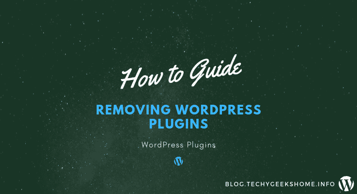 Removing WordPress Plugins