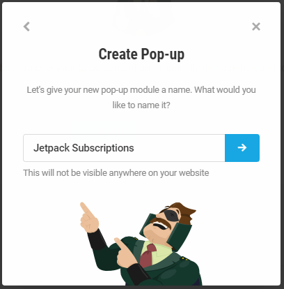 Hustle name the new pop-up