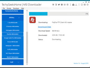 MSI Downloader Tool [Updated Oct 2019]