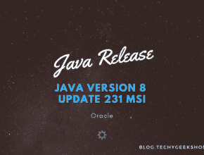 Java 8 Update 231 MSI Installers Released