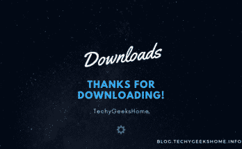 Thanks for downloading