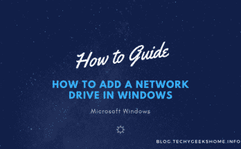 How to Add a Network Drive in Windows