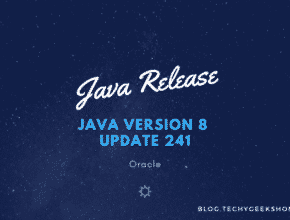 Java 8 Update 241 MSI Installers Released