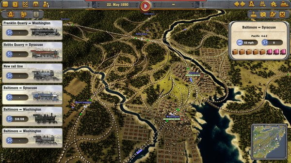 Huge Savings on Railway Empire for PC (£9.49) 8