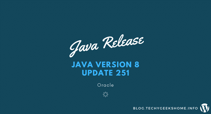 Java-Version-8-Update-251